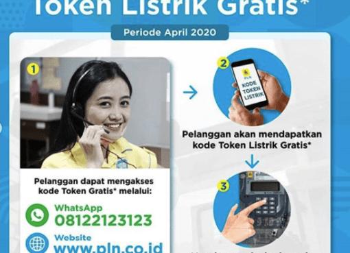 Akses Token Listrik Gratis, Begini cara dapatkannya lewat Whatsapp