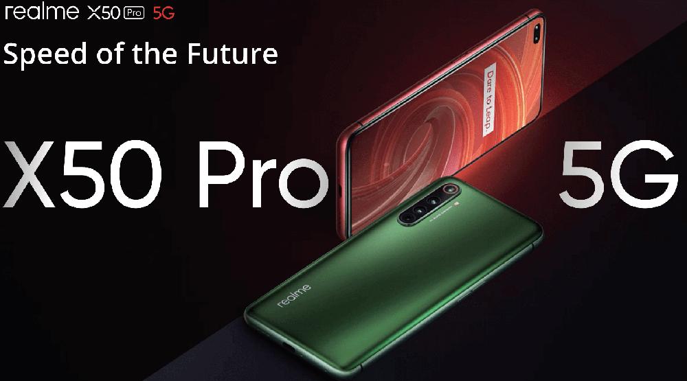 Spefikasi dan Harga Realme X50 Pro, HP 5G Keren