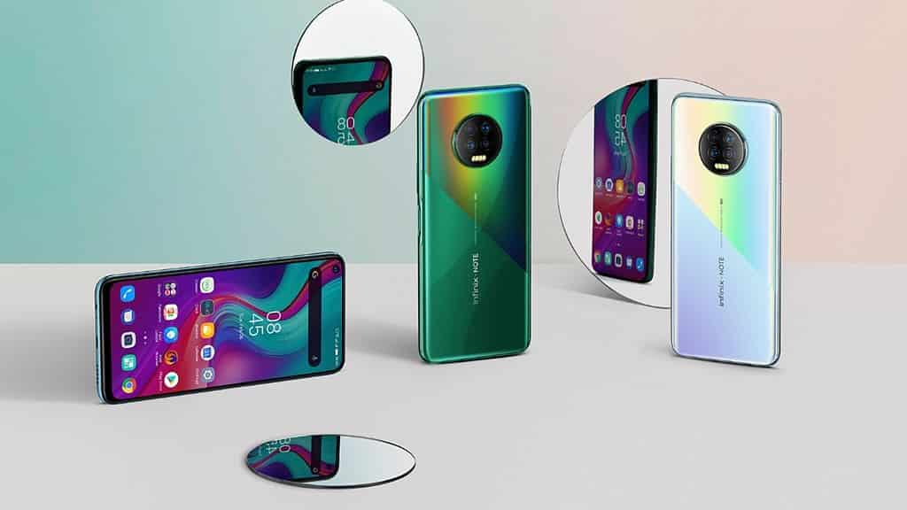 Infinix Note 7, Hape Stylish dengan 4 kamera Harga 2 jutaan