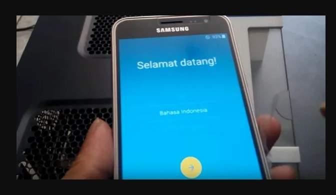 cara flash handphone Samsung