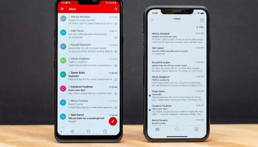 cara mengirim email lewat email handphone