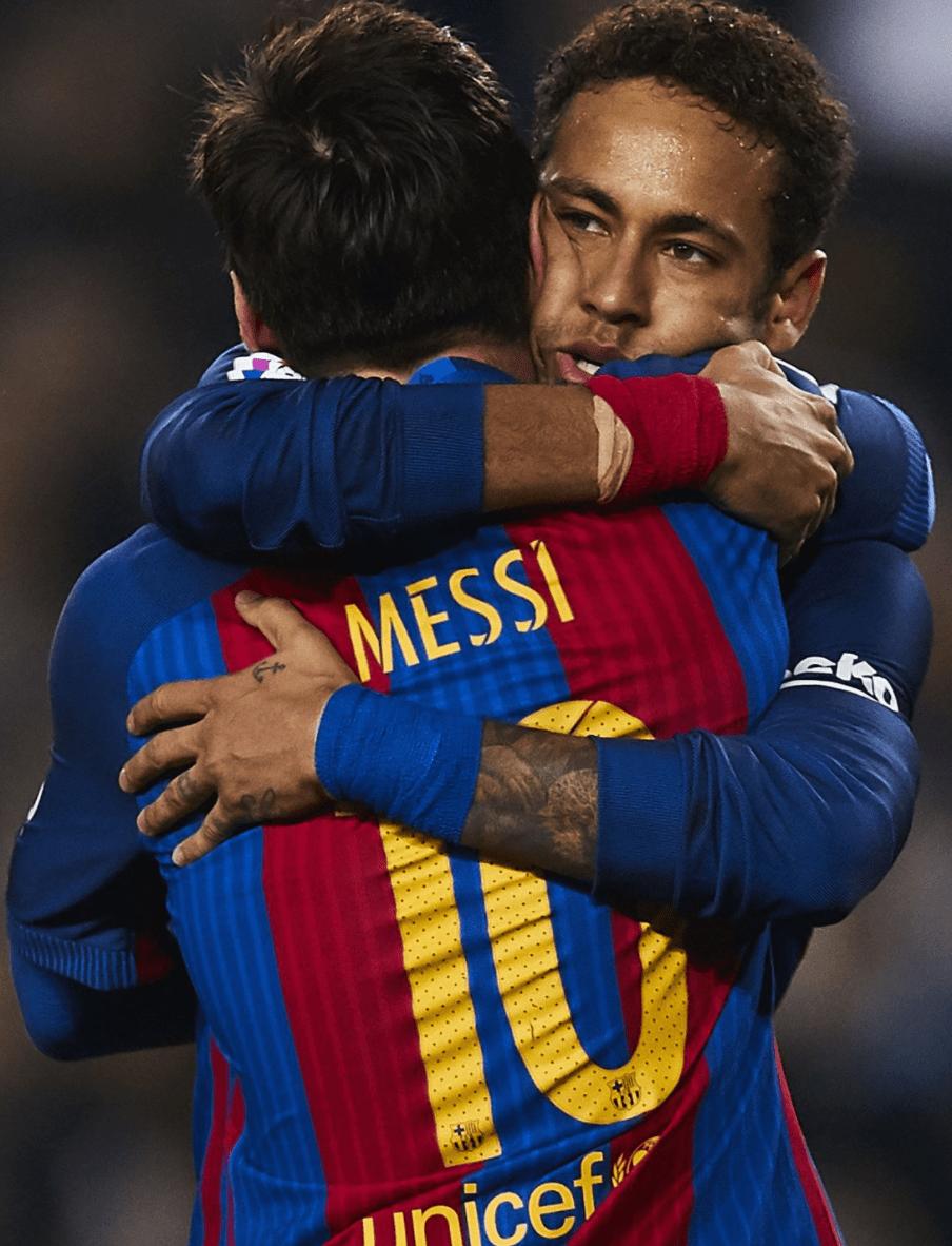 Messi Ajak Neymar untuk Join ke Manchester City