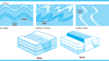 Diatropisme/Tektonisme/Tektogenesa - Materi Geografi